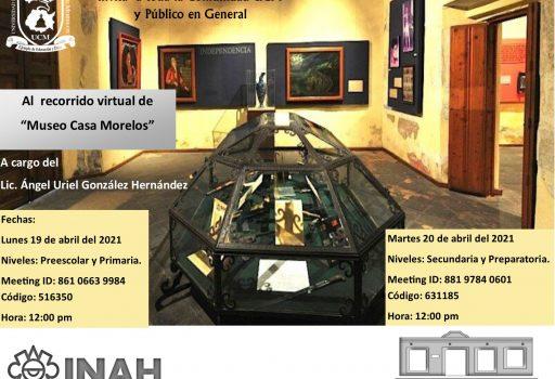 flayer Museo Casa Morelos ID